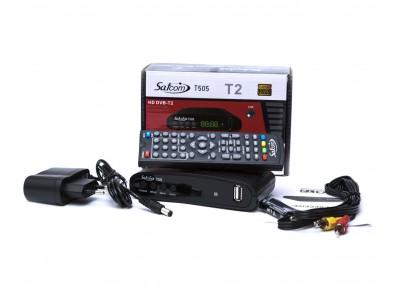 Тюнер T2 SATCOM T505 HD  FTA