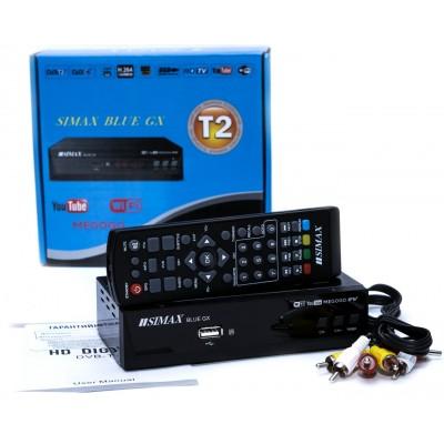 Тюнер DVB-T2 SIMAX BLUE GX HD FTA