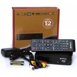 Тюнер DVB-T2 SIMAX RED HD FTA
