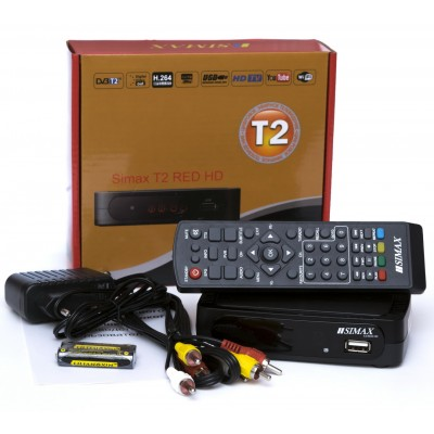 Тюнер DVB-T2 SIMAX RED HD FTA