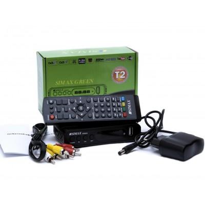 Тюнер DVB-T2 SIMAX T2 GREEN HD FTA