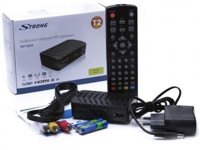Тюнер T2 STRONG SRT-8203 HD