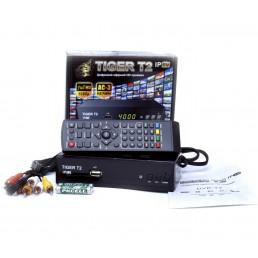 Тюнер DVB-T2 TIGER IPTV  HD  FTA