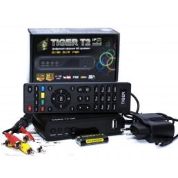 Тюнер DVB-T2 TIGER IPTV mini  HD  FTA