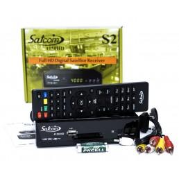 Тюнер SATCOM 4150HD (метал)