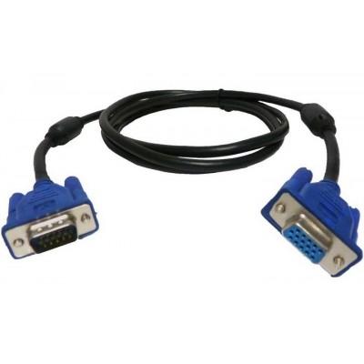 Кабель VGA шт.HDB15pin- шт.HDB15pin, фільт., діам.-9мм, 3м
