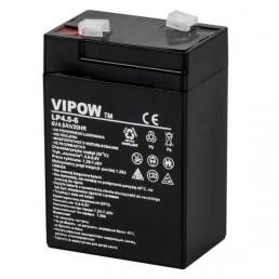 Акумулятор 6V*4,5Ah VIPOW 0200