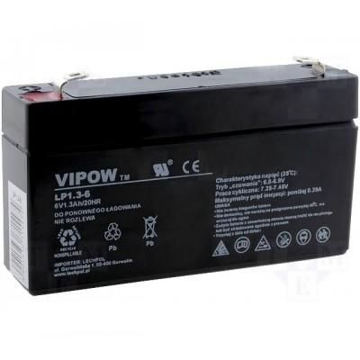 Акумулятор 6V*1,3Ah VIPOW 0203